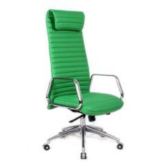Fine Mod Imports FMI10178-green Ox Office Chair High Back, Green