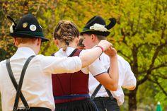 Maifest im Salzburger Saalachtal in Lofer