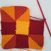 Labores en Red: 2027-. Técnica crochet: Ganchillo Tunecino