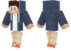A simple boy wearing a dark blue hoodie. Skins For Minecraft Pe, Mc Skins, Pocket Edition, Blue Hoodie, Dark Blue, Book, Diy, Hipster Stuff, Deep Blue