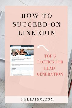 Learn LinkedIn business tips - how to use LinkedIn for lead generation. Linkedin Business, Social Media Marketing Business, Digital Marketing Strategy, Social Media Tips, Marketing Strategies, Content Marketing, Business Tips, Marketing Plan, Mobile Marketing