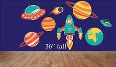 outer space wall decals - Google Search