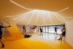 Gallery of Tennis Club in Strasbourg / Paul Le Quernec - 1