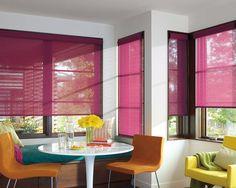 Las Cortinas Enrollables, elegantes y sofisticadas, entregan cientos de soluciones para todas tus espacios.