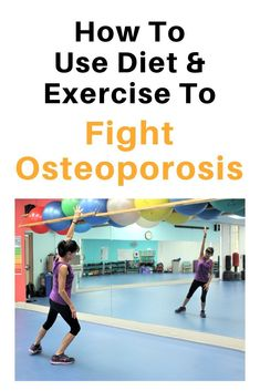 Learn how to fight osteoporosis and osteopenia by using the right types of exercise to preserve bone mass. Osteoporosis Exercises, Fitness Diet, Health Fitness, Muscle Fitness, Gain Muscle, Build Muscle, Workout Routine For Men, Diets, Exercises
