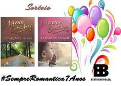 SEMPRE ROMÂNTICA!!: Sorteio #SempreRomantica7Anos - Bertrand Brasil