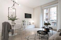 Gravity Home — Small cozy home Studio Apartment Decorating, Apartment Design, Apartment Living, Living Room Decor, Living Spaces, Living Room Designs, Gravity Home, Minimalist Home Interior, Home And Deco