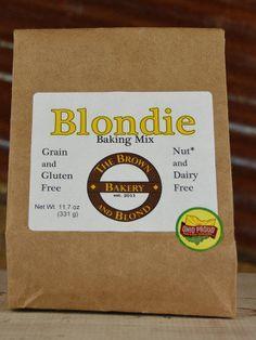Gluten Free Blondie Brownie Baking Mix