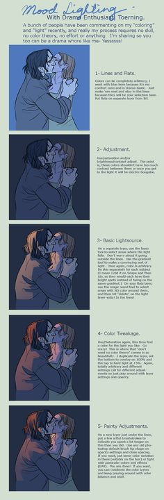 Adrian you'll like this!!   Mood Lighting notes by ~toerning on deviantART
