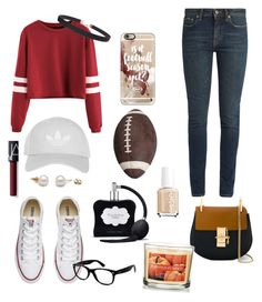 """Boyfriend Stealer."" by alexisclarez on Polyvore featuring Yves Saint Laurent, Converse, Topshop, Ray-Ban, Humble Chic, Victoria's Secret, Casetify, Wembley, Chloé and NARS Cosmetics"