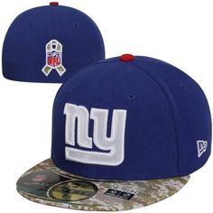 New Era New York Giants Youth Salute to Service 59FIFTY Fitted Hat - Royal Blue #SalutetoService