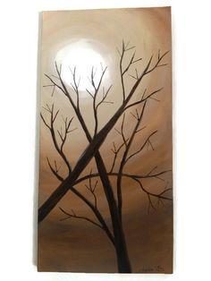"""Tableau """" l'arbre en automne"""" : Peintures par kikry-art"""