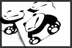 Sumo Panda - 8cm stickerbomb japan jdm drift tokyo Also Checkout #StickerBomb #VehicleWraps from #Rvinyl!