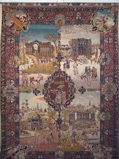 Iran National Carpet Museum, Tehran, Iran by Amir Hossein Momeni, via Flickr