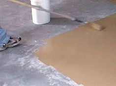 Shop our selection of concrete sealers at the Total Polytunnels. We are known for transforming your surface into to an exciting and smart finish. Painted Concrete Floors, Painting Concrete, Stained Concrete, Concrete Slab, Basement Makeover, Basement Renovations, Home Remodeling, Porch Flooring, Basement Flooring
