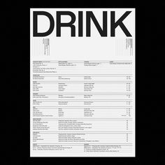 classic to contemporary graphic design and typographic work Page Layout Design, Book Design, Editorial Layout, Editorial Design, Drink Menu Design, Menue Design, Minimal Graphic Design, Menu Layout, Photo Images