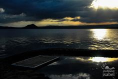 Sunset at Taal. A spectacular view of the Taal landscape from Club Balai Isabel. #clubbalaiisabel @TourismPHL