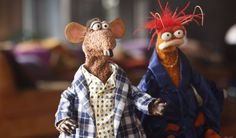 Take it from Rizzo and Pepé the King Prawn: There's no good reason to get out of your pajamas before noon. The Muppets, July 2016