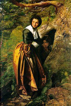 Millais Royalist - John Everett Millais  c.1853