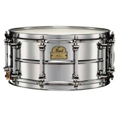 Pearl Signature Ian Paice Snare - 14x6.5 Steel Chrome