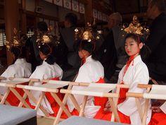 Festival at Otoshi shrine.