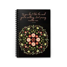 Dolly Parton Quote | Spiral Notebook - Ruled Line