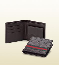 Guccissima leather coin wallet