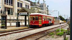 Street, Car, New, Orleans, Trolley