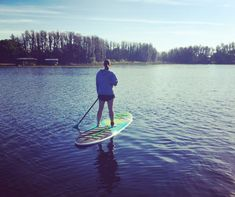 Peace on a Paddleboard: Finding My Me-Time Escape #LutzLakeLife #FloridaLifestyle #SUPFlorida