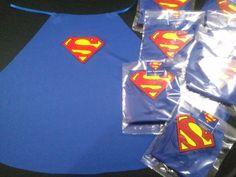 10 capas de superheroes souvenir, recuerdo, regalo superman