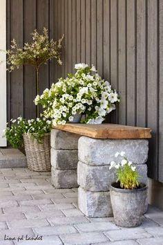 Ιδέες για χειροποίητα παγκάκια και καθίσματα εξωτερικού χώρου | Woody's Ξύλινες Χειροποίητες Κατασκευές