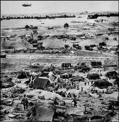 NORMANDY, France—Omaha Beach, June 1944. © Omaha Beach, June 1944. / Magnum Photos