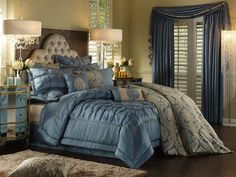 HomeChoice Sophia Teal bedding