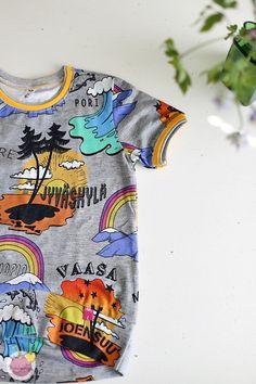 Kuinka huolitella pääntie kaksoisneulalla – Käsityökekkerit Mens Tops, T Shirt, Fashion, Supreme T Shirt, Moda, Tee Shirt, Fashion Styles, Fashion Illustrations, Tee