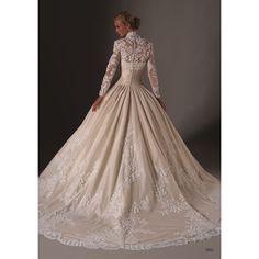 Beautiful wedding dress: grace kelly wedding dress found on Polyvore