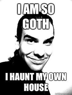 goth memes - Buscar con Google