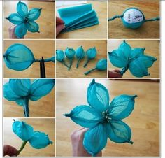 15 tissue paper flower tutorials crafty pinterest tissue paper diy paper flower tutorial step by step instructions for making crepe paper roses lilies and marigold flowers hand made decorative flowers mightylinksfo