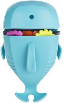 Boon Whale Pod Bath Toy Scoop, Drain & Storage - Blue - Kid's Bathroom