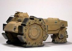 strangest tractor-ALKETT VSKFZ 617 MINENRAUMER - the Minesweeping Giant Armored Tractor - Bing Images