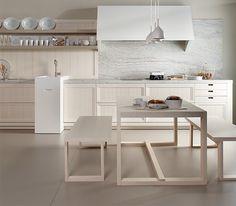 Colección Arkadia de Dica: una cocina de madera con alma mediterránea