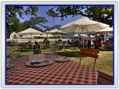 picnic at Allee Bleue