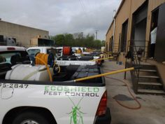 Quality and professional service. #pestcontrol #clean&green