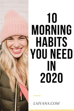 10 morning habits you need in 2020 - - 10 things to add to your morning routine to increase your productivity and well-being throughout the day. Improve your whole day with these morning habits. Good Habits, Healthy Habits, Healthy Snacks, Motivation Poster, Motivation Success, Health Motivation, Better Life, Feel Better, How To Better Yourself
