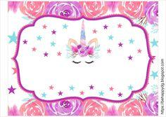Be happy: Kit imprimible Unicornio Gratis