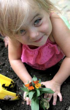 Gardening with Children: How to Plan a Children's Garden