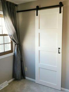 Sliding Door Systems, Sliding Barn Door Hardware, Sliding Doors, Sliding Cupboard, Cupboard Doors, Sliding Door Closet, Door Hinges, Barn Door Closet, Diy Barn Door