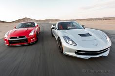 2014 Chevy Corvette vs. 2014 Nissan GT-R