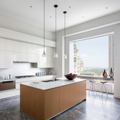The 432 park avenue sky scraper is situated in new york and it is the tallest residential building of the world. here are some 432 park avenue interiors which you should definitely see! Cocina Home Depot, Home Depot Kitchen, Kitchen On A Budget, Kitchen Interior, Kitchen Dining, Kitchen Decor, Room Interior, Kitchen Island, Kitchen Ideas