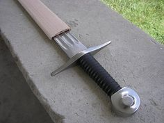 Medieval Sword Scabbard How to Project ur dad made u a bow right i doubt this would be hard for him