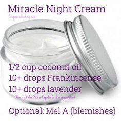 Care Advice That Will Help At Any Age Miracle face cream (night or day.) Miracle face cream (night or day. Essential Oils For Face, Essential Oil Blends, Diy Skin Care, Skin Care Tips, Skin Tips, Skin Secrets, Mascara Hacks, Organic Face Moisturizer, Homemade Face Moisturizer